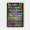 Growth Mindset Teacher Poster