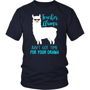 Teacher Llama Teacher T-shirt