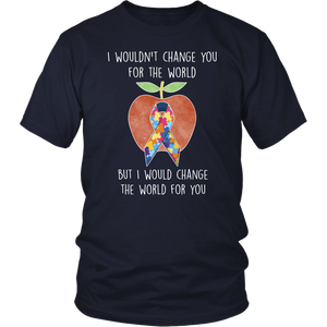 I would Change the World Teacher T-shirt