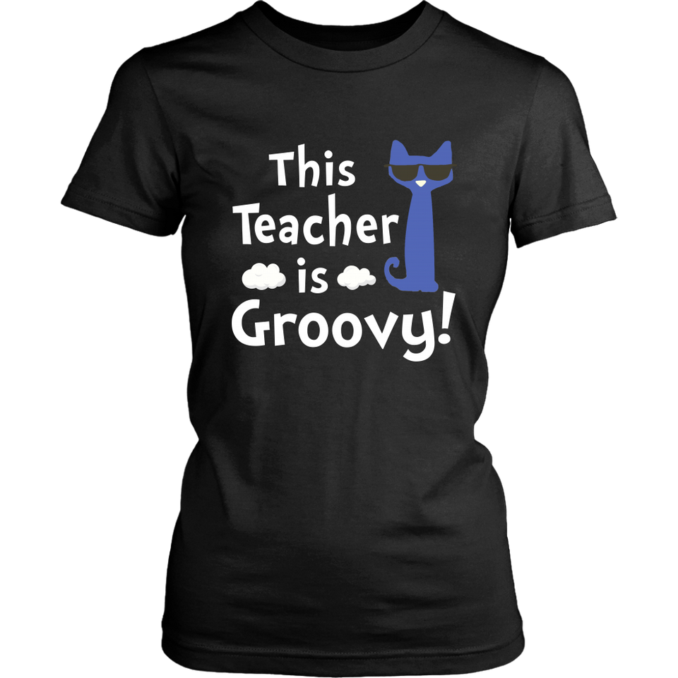 This Teacher is Groovy Teacher T-shirt