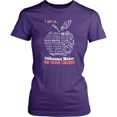 Difference Maker Teacher T-shirt