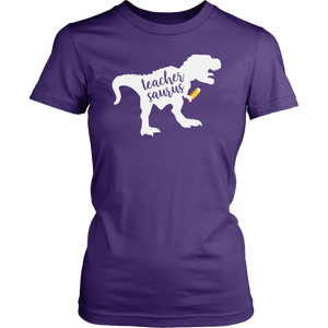 Teacher Saurus Teacher T-shirt