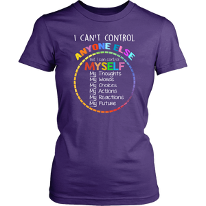 Control Myself Teacher T-shirt