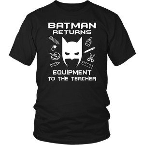 Return Equipment Teacher T-shirt