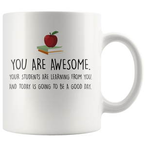 Positive Teacher Mug