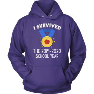 I Survived the 2019-2020 School Year Teacher T-shirt