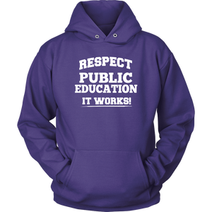 Respect Public Ed Teacher T-shirt