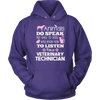 Animals do speak Vet Tech T-shirt