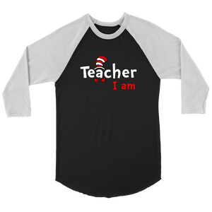 Teacher I am Dr. Seuss T-shirt