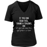 If You can Read this Teacher T-shirt