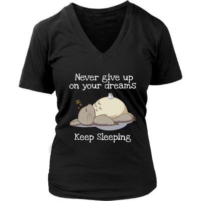 Never Give Up T-shirt