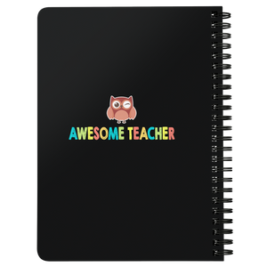 When You Enter This Classroom Teacher Spiralbound Notebook