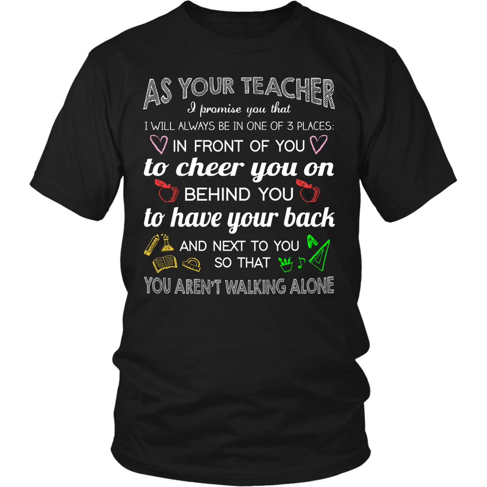 As Your Teacher Teacher T-shirt