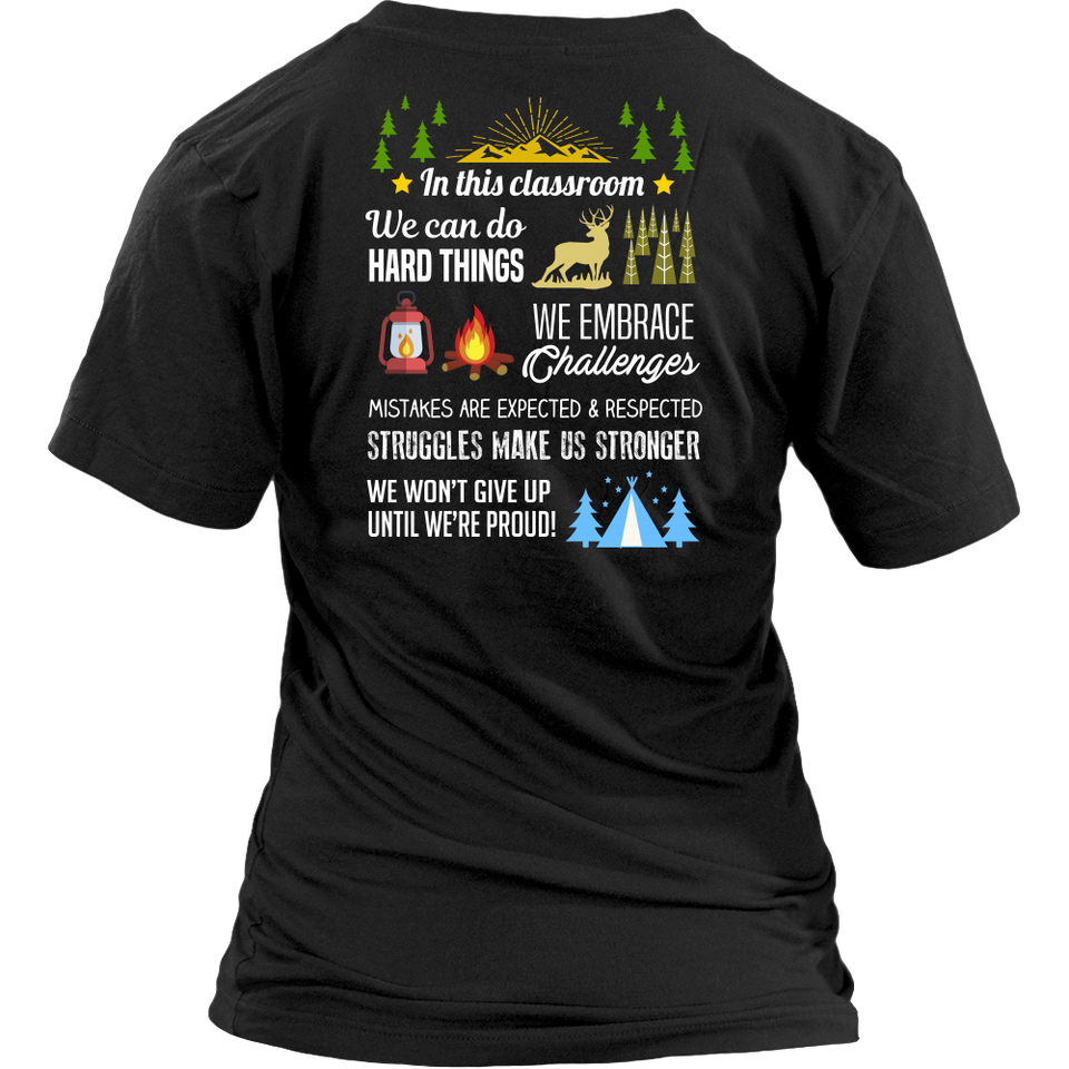 Adventure Classroom Teacher T-shirt