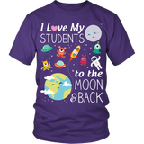 To the Moon and Back Teacher T-Shirt