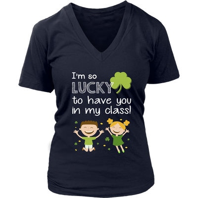 I Am So Lucky Teacher T-Shirt