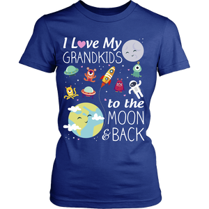 To the Moon and Back Grandma T-Shirt/Hoodie/Long sleeves/V-Neck