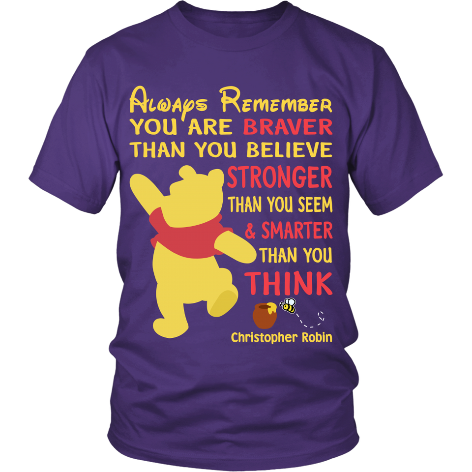 You're Braver Teacher T-Shirt
