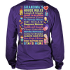 House Rules Grandma T-Shirt/Hoodie/Long sleeves/V-Neck