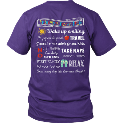 Retirement Lesson Plan Teacher T-Shirt