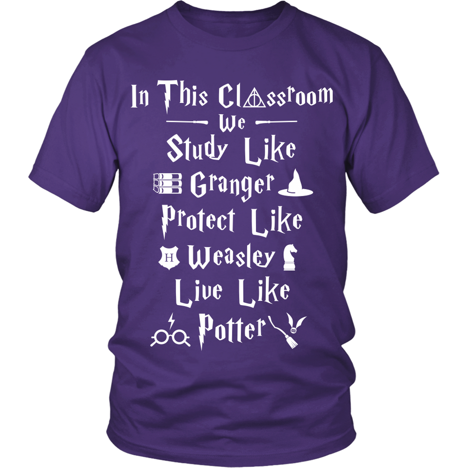 Harry Potter Classroom Teacher T-Shirt