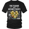 Has Awesome Students Teacher T-Shirt