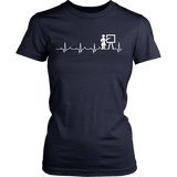 Heartbeat Teacher T-Shirt