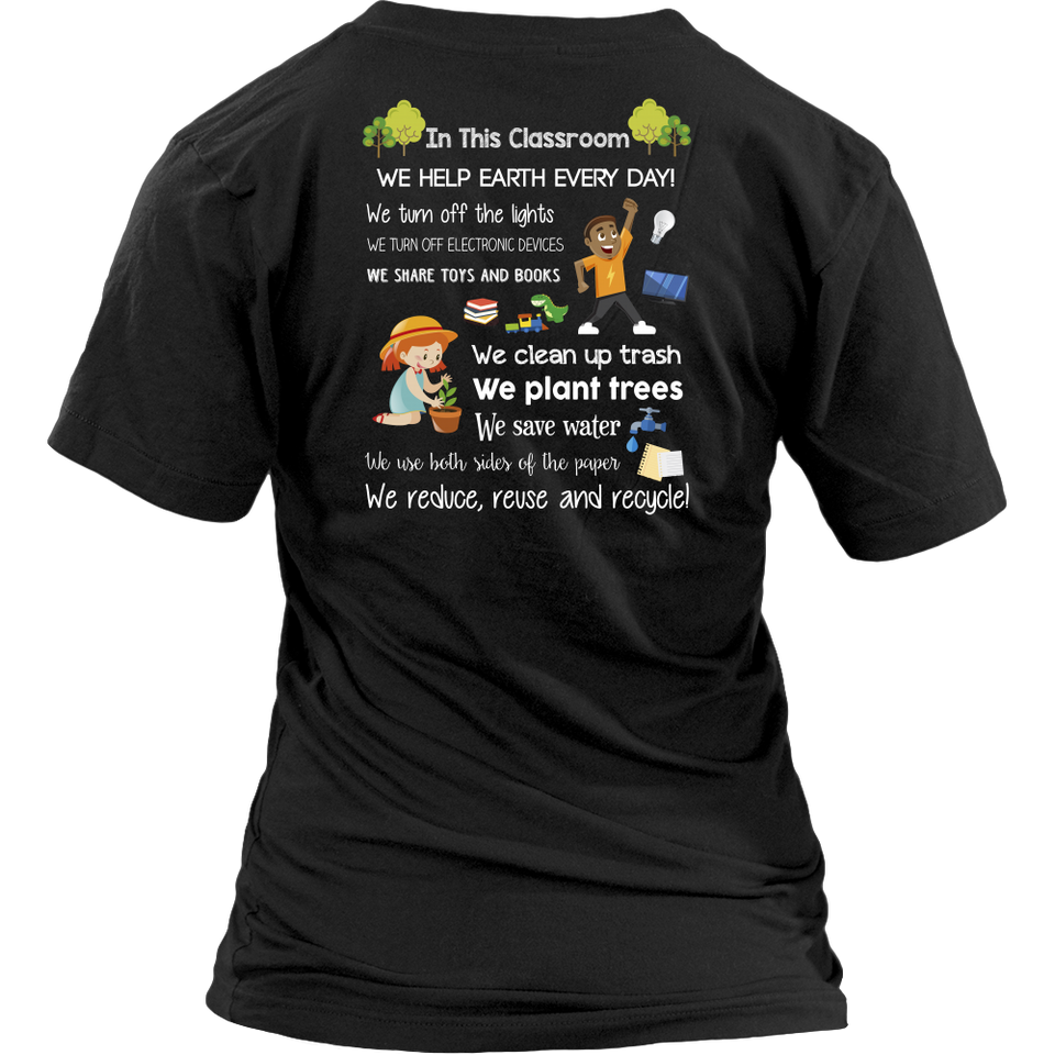 Earth Day Teacher T-Shirt