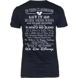 We Do Disney Teacher T-Shirt