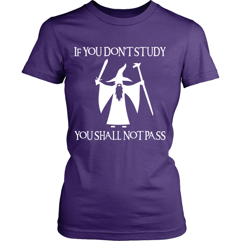 If You Do Not Study Teacher T-Shirt