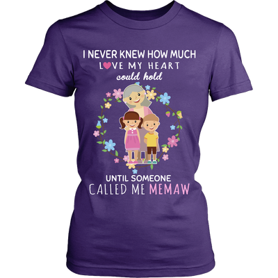 I Never Knew MEMAW T-Shirt/Hoodie/Long sleeves/V-Neck