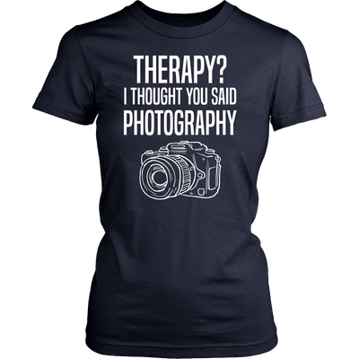 Therapy Photography T-Shirt