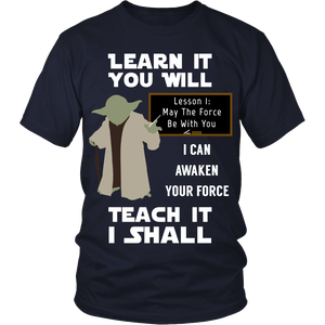 Awaken Your Force Teacher T-Shirt