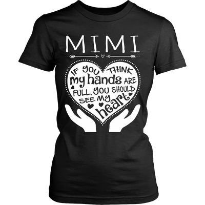 See My Heart MIMI T-Shirt/Hoodie/Long sleeves/V-Neck