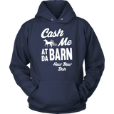 Cash Me At Da Barn Horse T-Shirt
