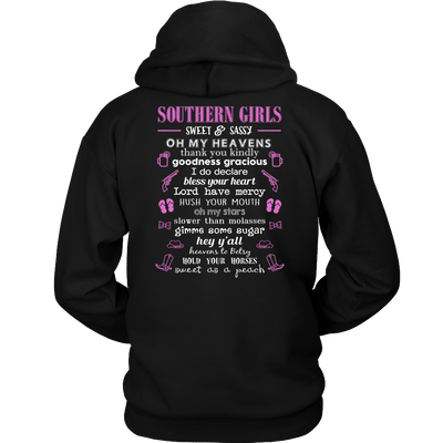 Sweet and Sassy Southern Girl T-Shirt