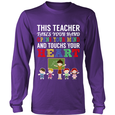 Touch Your Heart Teacher T-Shirt