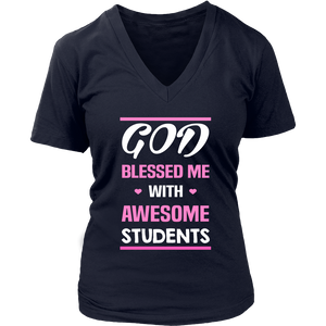 God Blessed Me Teacher T-Shirt