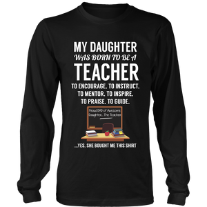 My Daughter Teacher T-Shirt