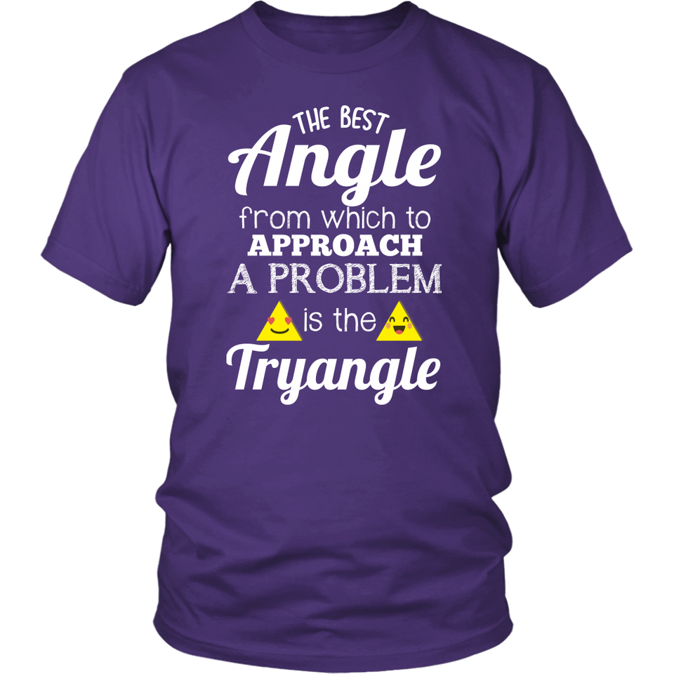Tryangle Teacher T-shirt
