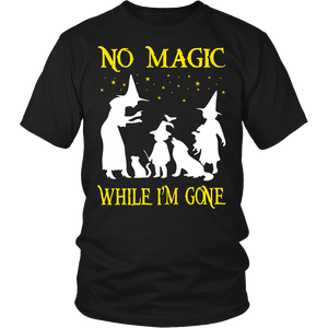 No Magic Teacher T-shirt