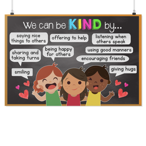 We can be Kind Teacher Poster