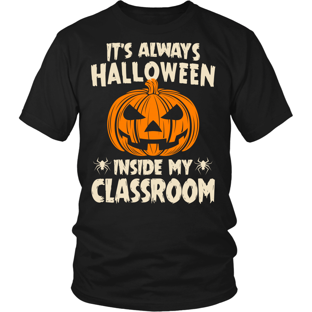 Halloween Classroom Teacher T-shirt