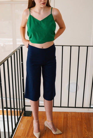 Collective Cropped Culotte