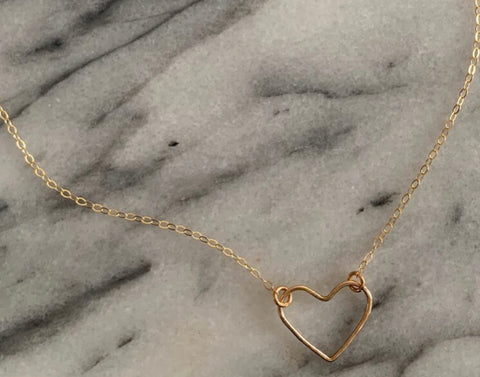 Heart Necklace - Gold Filled (TS750)
