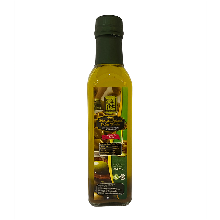 HALAWATUSSUNNAH EXTRA VIRGIN OLIVE OIL 250ml