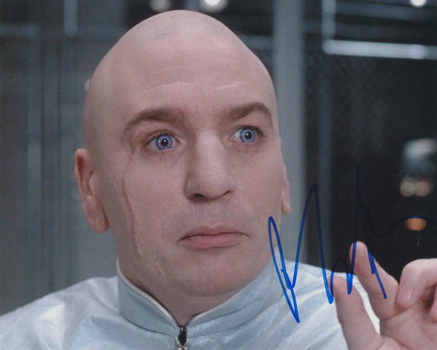 MIKE MYERS SIGNED AUSTIN POWERS  DR EVIL 8X10 PHOTO