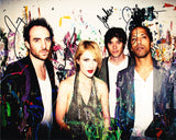 METRIC SIGNED 8X10 PHOTO