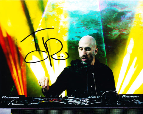 DJ TJR SIGNED 8X10 PHOTO TJ ROZDILSKY 5