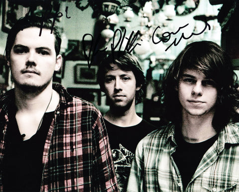 HALF MOON RUN SIGNED 8X10 PHOTO 3